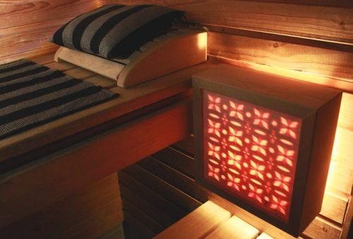 Ihana tunnelmanluoja saunaan