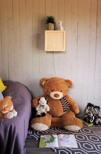 Ekologinen ja kotimainen valaisin lastenhuoneeseen