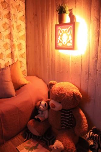 Lastenhuoneen sisustuksen jatkeeksi kotimainen ja ekologinen yövalo